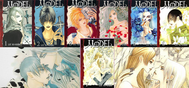 Model korean manga series