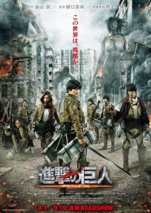 AoT Live Action poster