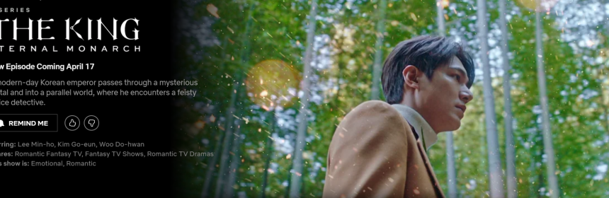 Lee Min Ho in The King: Eternal Monarch
